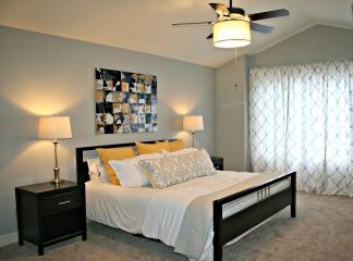 Yellow Bedroom 1